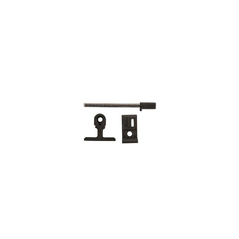 Πύρος ασφαλείας πορτών και παραθύρων μαύρος