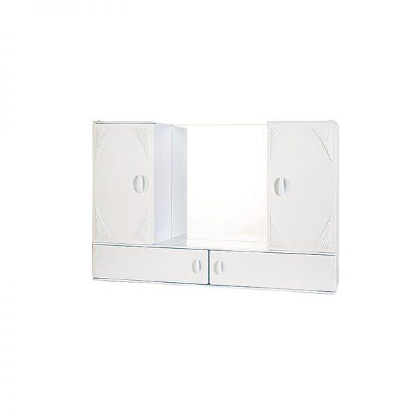 Καθρέπτης Κορίνα λευκός (3001).