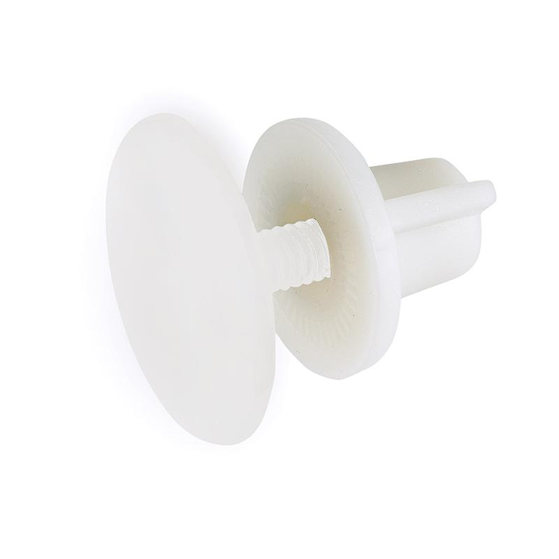 Τάπα διακοσμητική Νο1 λευκή