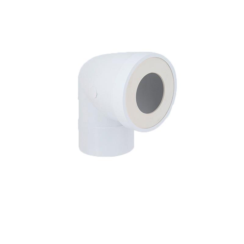 Σωλήνας γωνία PVCαποχέτευσης 125mmXΦ100